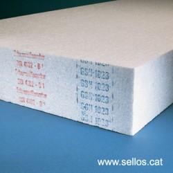 Para marcar bordes en planchas de poliestireno