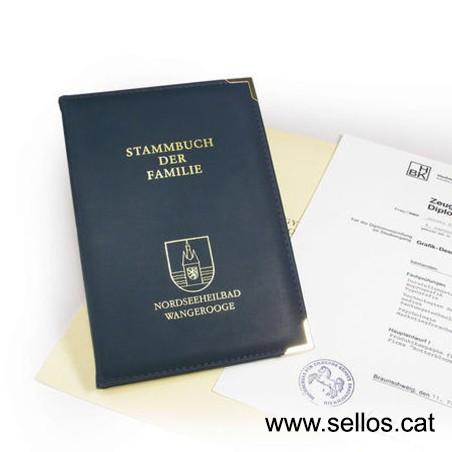 Per timbrar documents, xecs, valors