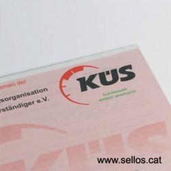Pigmentada con protección contra falsificaciones