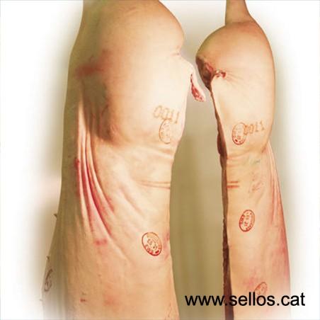 Per escorxadors, marca fins i tot sobre carn greix