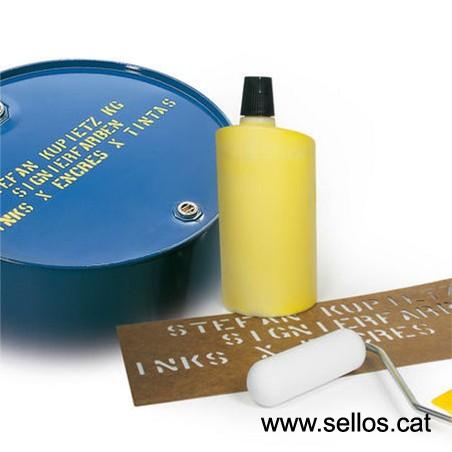 Para marcar superficies lisas no absorbentes