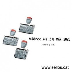 Datador sense placa 5 mm.