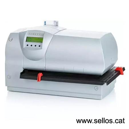 Selladora electrónica con placa de texto 62x40 mm.