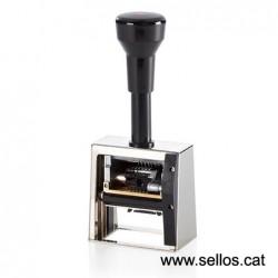 Numerador Reiner con placa 50 x 30 mm