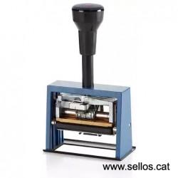 Fechador Reiner con placa 65 x 30 mm.