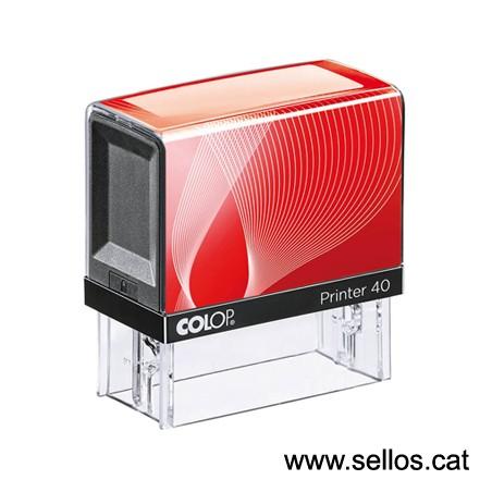 Printer 40 placa de 59x23 mm.