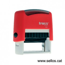 Traxx placa de 38x14 mm.