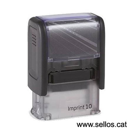 Imprint 10 placa de 26x10 mm.