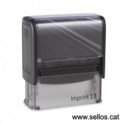 Imprint 13 placa de 58x22 mm.