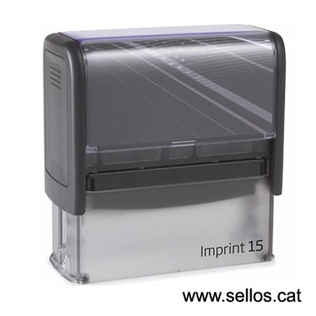 Imprint 15 placa de 70x25 mm.