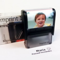 Imprint-11 placa de 38x14 mm. per marcar roba