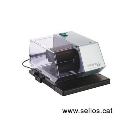 Fechadora electrónica Reiner con placa de texto 60x35 mm.