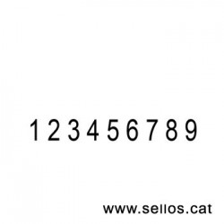Numerador Reiner 9 cifras