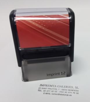 Nuevo sello automático Imprint
